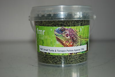 FMR Small Turtle and Terrapin Complete Food Pellets 336ml Tub Approx 130g