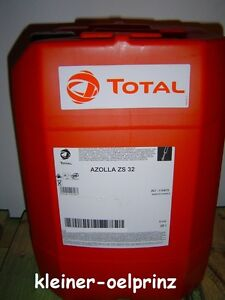 total azolla zf 32 hydraulic oil hlp 32 20 ltr for hydraulic ebay. Black Bedroom Furniture Sets. Home Design Ideas