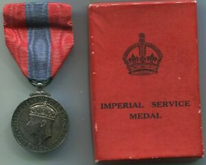 Medal-Imperial-Service-Medal-GVI-Chargeman-of-Slingers-Shipbuilding-Plymouth-DY