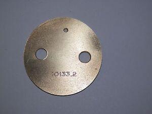 Details about DELLORTO 36 DRLA 10133 2 THROTTLE PLATE