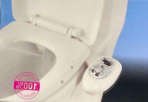 Left Hand Bidet Wash Toilet Seat Attachment One Nozzle Douche Spray Clean Ebay