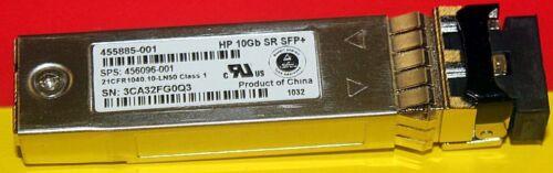 456096-001 57xAvail 10GBASE-SR 10Gigabit Transceiver 455885-001 HP 10Gb SR SFP