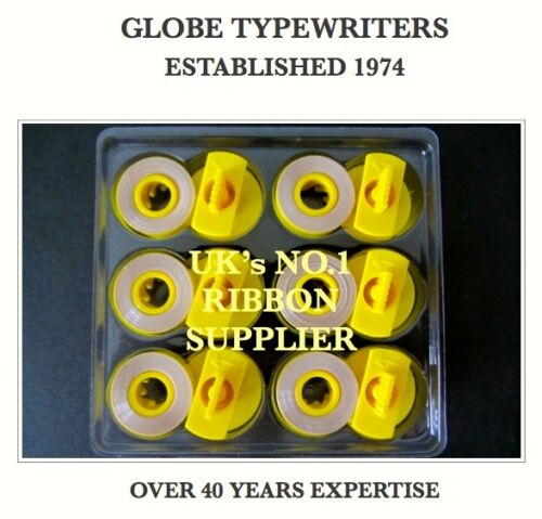 6 COMPATIBLE CORRECTION//LIFT OFF TAPES FOR BROTHER AX-310 ELECTRONIC TYPEWRITER