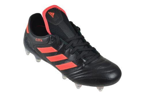 ADIDAS COPA 17 SG core black solar red Sneaker Schuhe schwarz S77132