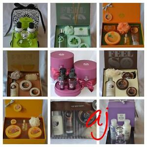The Body Shop Gift Box Collection Shower Gel Soap Body Butter ...