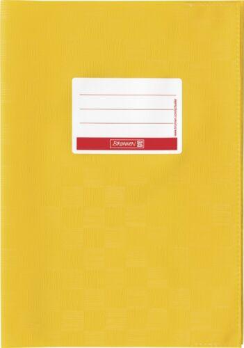 Brunnen Hefthülle A4 goldgelb Heftumschlag mit Schild PP-Folie 10-4052416 NEU