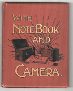 1901-WITH-NOTEBOOK-amp-CAMERA-Edith-Baring-Gould-TRAVEL-Walton-Le-Dale-LANCASHIRE