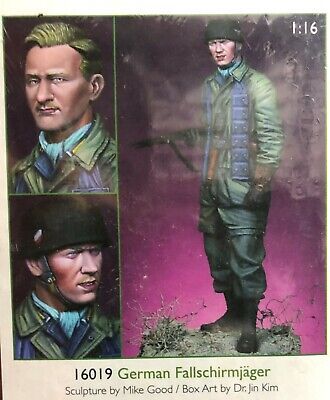 1/16 120mm Resin Figure Alpine Miniatures German FallschirjÄger Wwii. New.