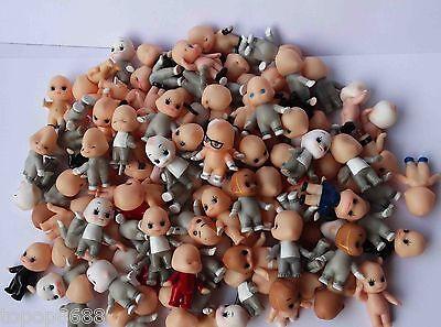 Random Pick Lot of 20 Kewpie Dolls Toys cute baby Figurine old w color