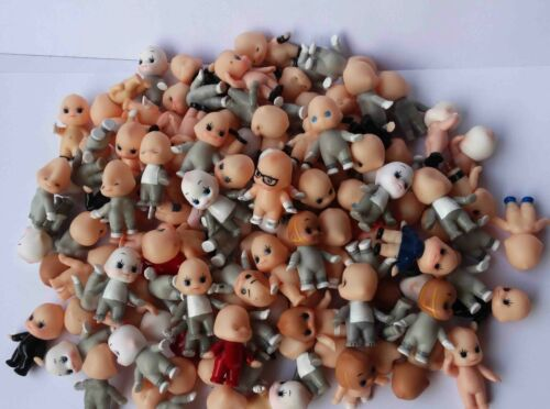 Random Pick Lot of 30 Kewpie Dolls Toys cute baby Figurine old w color