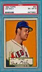 1952 Topps Leo Kiely #54, Red Back PSA 6! Red Sox!