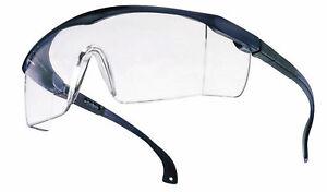 SCHUTZBRILLE-Brille-Labor-Basic-klar-blau-verst-Buegel