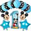 DISNEY-MICKEY-MINNIE-MOUSE-COMPLEANNO-PALLONCINI-BABY-SHOWER-SESSO-rivelare-Rosa-Blu miniatura 27