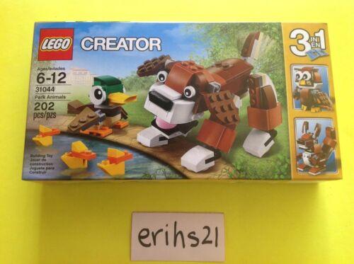 LEGO Creator 3 in 1 Park Animals 31044 Brand New Sealed Set 202 Pcs Retired