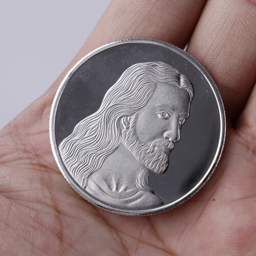 Jesus last supper commemorative coin collection collectible christmas gift FS