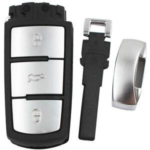 KE-FP-KE-ITS-KQ-Replacement-3-Buttons-Car-Key-Fob-Case-Shell-For-VW-Passa