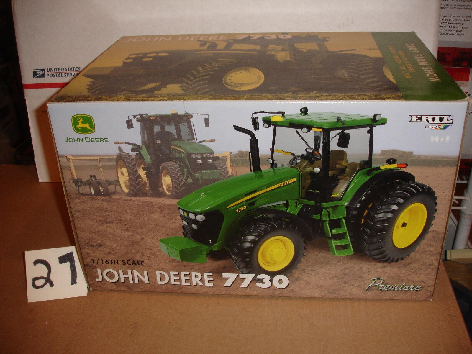 1 16 john deere 7730 farm show tractor