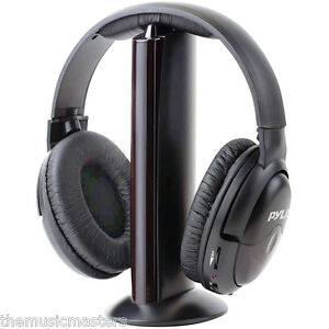 Wireless-and-Wired-Full-Size-Stereo-Headphones-for-TV-MP3-iPod-CD-DVD-Computer