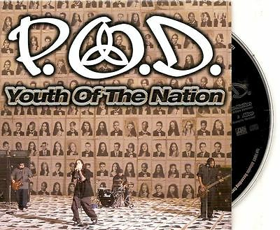 P O D  Youth Of The Nation / Alive semi acoustic 2 track GERMANY CARDslv CD  SING | eBay