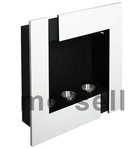 gelkamin bio ethanol gel kamin brenngel wandkamin futura weiss edelstahl dosen ebay. Black Bedroom Furniture Sets. Home Design Ideas