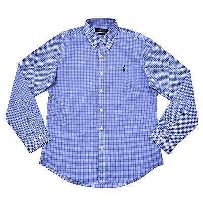 Polo Ralph Lauren Mens Slim Fit Shirt Long Sleeve Button Down Xs S M L Xl Xxl