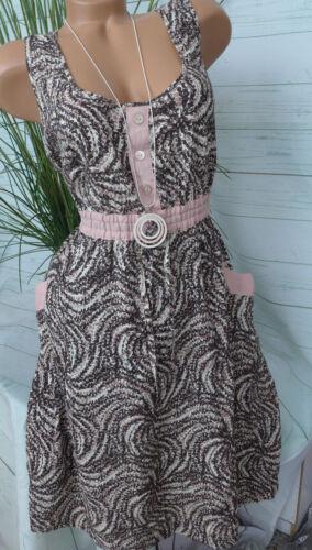 NEU Laura Scott Süßes Viskose Kleid 46 000
