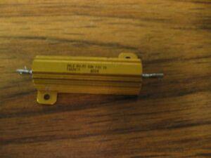 Lot of 5 Dale RH-50 50 Watt 3 Ohms 1/% Resistors