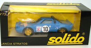 SOLIDO-VINTAGE-NO-73-1-43-LANCIA-STRATOS-BLUE-MINT-BOXED