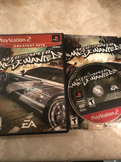 Need for Speed: Most Wanted (Sony PlayStation 2, 2005) Free Shipp Canada 🇨🇦