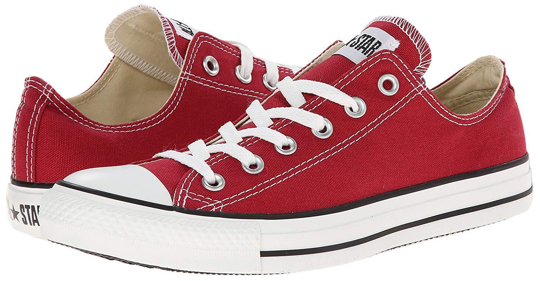 Chuck Taylor All Star Converse Ct OX 136506F Jester Red Unisex scarpe da ginnastica