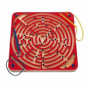 Labyrinthe magnétique * Habileté Bois Rouge