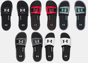 0e34dc32 Details about Under Armour Men's UA Ignite V Slides Sandals - Many Colors  and Sizes