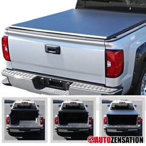 2007-2014 Chevy Silverado GMC Sierra 8ft Long Bed Tri-Fold Tonneau Cover