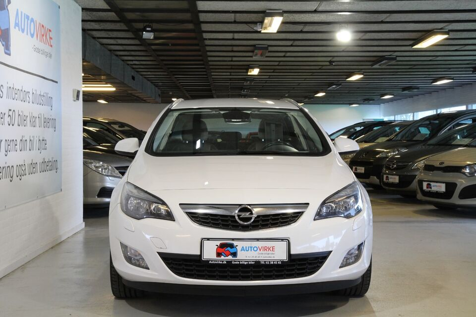 Opel Astra 1,7 CDTi 125 Enjoy ST Diesel modelår 2012 km