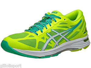 ASICS-GEL-DS-TRAINER-20-W-Scarpe-Running-Donna-F-YELLOW-WHITE-MINT-T578N-0701