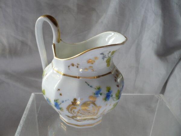 -dose Milch- Porzellan Aus Paris 19 Eme Jahrhundert Ausgezeichneter Zustand 4885 Eine GroßE Auswahl An Modellen