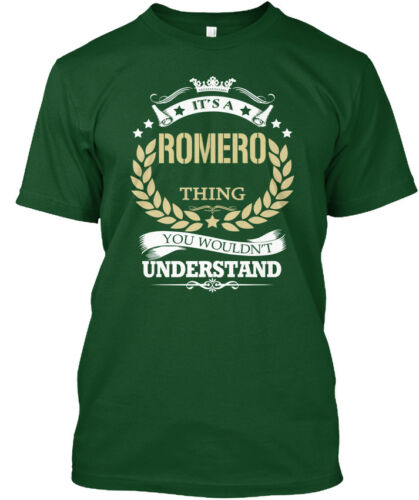 * It/'s You Wouldn/'t Understand Hanes Tagless Tee T-Shirt Its A Romero Thing
