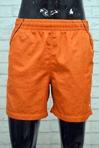 Costume-NIKE-Uomo-Size-M-Mare-Piscina-Pantaloncino-Shorts-Rete-Kostum-Arancione