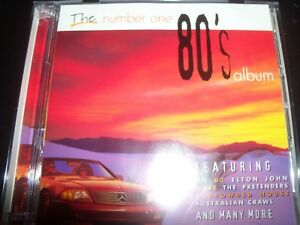 The-Number-One-80-039-s-Album-Various-2-CD-U2-ABC-The-Cure-Culture-Club-INXS