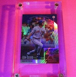 1998-Donruss-PRIZED-Collections-PREFERRED-John-Olerud-633-MINT-55-refractor