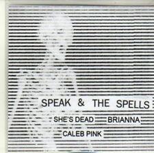 (CI965) Speak & The Spells, She's Dead / Brianna - DJ CD