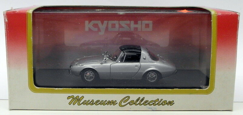 Kyosho 1 1 1 43 Scale Diecast 03164Y - Toyota Sports 800 - plata cde4ea