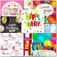 thumbnail 3 - Doodlecards Pack of 10 Square Contempory Mixed Birthday Cards