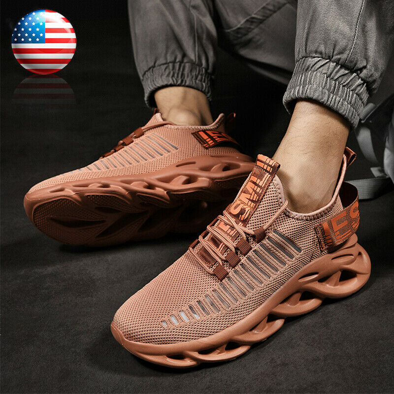 Men's Sneakers Athletic Sports Outdoor Fashion Casual Running Tennis Shoes Size9