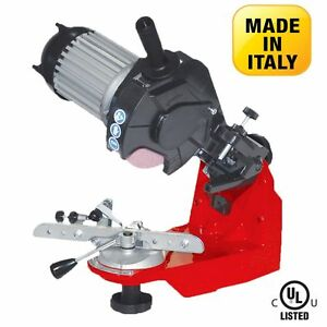 Compact Chain Saw Grinder 120v Bench Mounted Sharpener Ebay