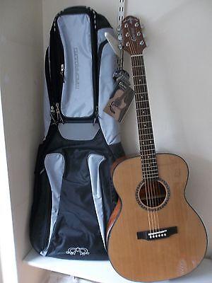 Waranteed Crafter Hilite T/cdn Acoustic Guitar & Padded Gigbag New
