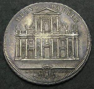 Moneta-Vaticano-1-2-piastra-del-1736-molto-rara-CF-1-0