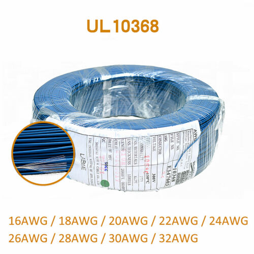 UL10368 XLPE Electronic Wire Cable 32//30//28//26//24//22//20//18//16 AWG High Temp Wire