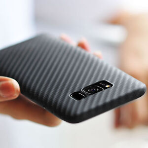 on sale e1017 dd8aa Details about Ultra Thin for Samsun Galaxy S9 / S9 Plus Carbon Fiber TPU  Shockproof Case Cover
