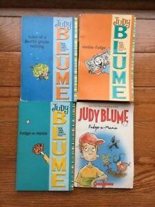 Four fudge books judy blume